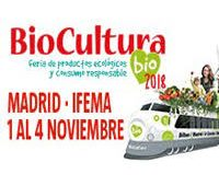 Estaremos en Biocultura Madrid 2018 stand: 14D Pabellón 10 (1-4 Nov)